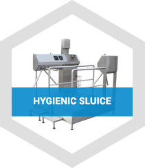 hygienic sluice