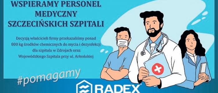Wpieramy personel medyczny