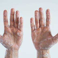 Mycie rąk z dezynfekcją