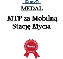 Złoty Medal MTP za Mobilną Stację Mycia SM 2K