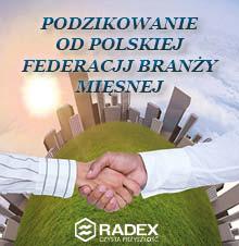 Podziękowania Polska Federacja Branży MIęsnej