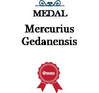 Medal Mercurius Gedanensis za Centralną Stację Mycia CSR 1/100 AVM