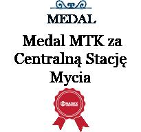 Złoty Medal MTK za Centralną Stację Mycia CSR 4/250