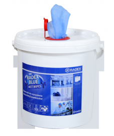 Radex Blue Wet Wipes