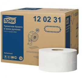 Papier Toaletowy TORK Jumbo 120231 <br /> <b style=color:yellow;